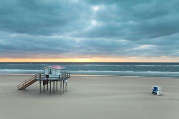 Lifeguard Haus am Strand von Sylt