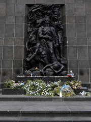 Warsaw Ghetto Monument
