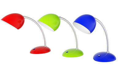 Colored lamps