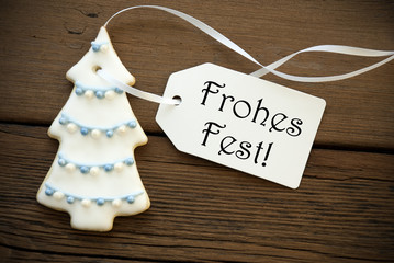 Frohes Fest as Christmas Greeting