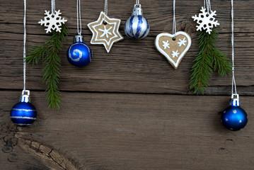 Hanging Christmas Balls and Christmas Decorations