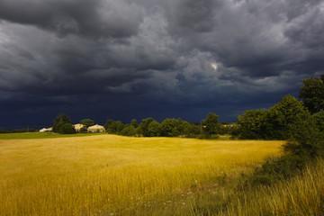 Unwetter in der Provence