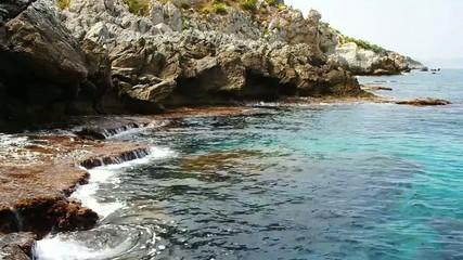 Mongerbino Bucht Sizilien