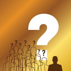standing success businessman silhouette