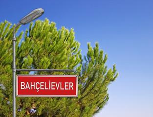 Tabela Bahçelievler İstanbul