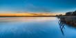 Sunset over Lake Schildmeer, Netherlands