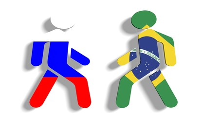 russia and brazil politic relationships metaphor