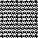 Black and White Male and Female Gender Symbol Repeat Pattern Bac poster