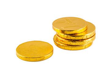 European chocolate money