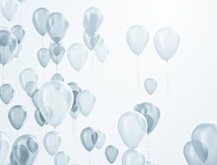 Balloons celebration background