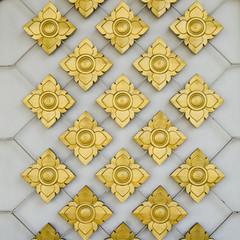 Thai style ornament details background