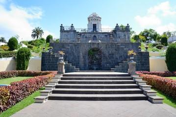 Botanical terraced garden in La Orotava.