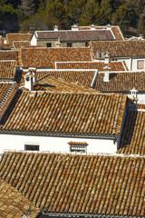 Tejados de Grazalema.Cádiz.España