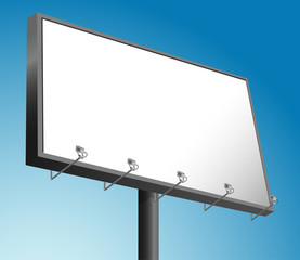 Vector Billboard advertising