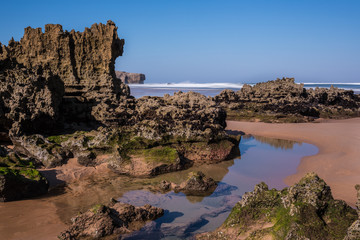 Beach in South-West Alentejo and Costa Vicentina Natural Park, P
