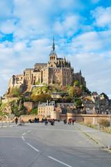 Abbey  of Mont Saint Michel, France