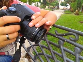 Haciendo una foto