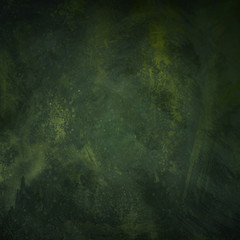 dark green  and black grunge texture, abstract background