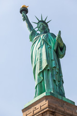 Statue of Liberty on a Sunny Day