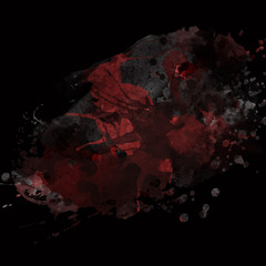 abstract black and red background