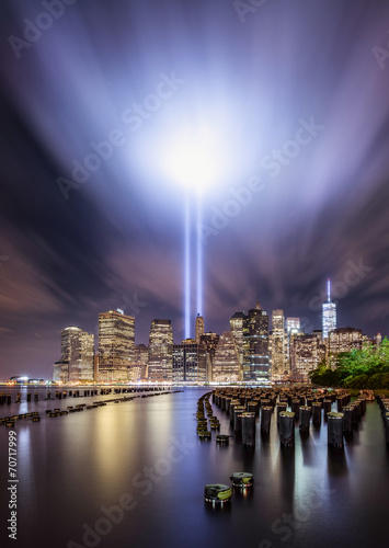 Tribute ligths, New York City