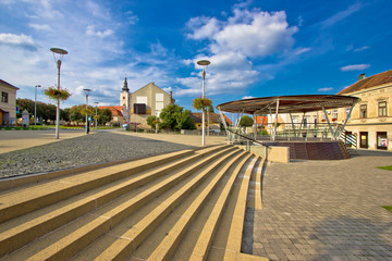 Town of Krizevci main square