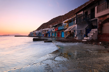 Klima, Milos island, Greece.