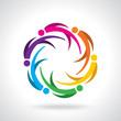 Vector Icon Graphic Teamwork concept