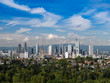 Skyline of Frankfurt, Germany,