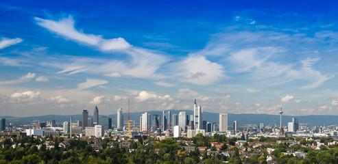 The City of Frankfurt am Main, Germany