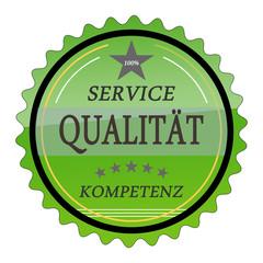 ql14 QualityLabel - Service Qualität Kompetenz - grün g1789