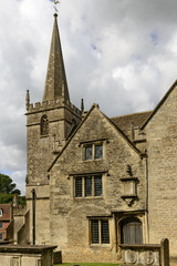 Church bell tower , Lacock