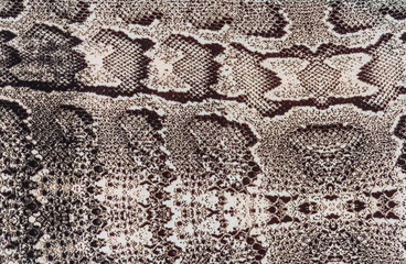 texture of fabric striped snake leather