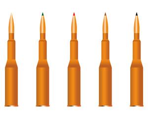 five cartridges