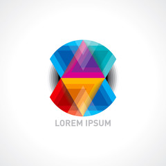 creative vector icon for business