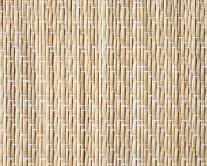 Bamboo mat, closeup detailed background photo texture