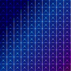 blue square abstract background.