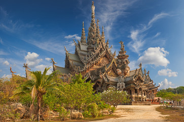 Sanctuary of Truth, Pattaya, Thailand.