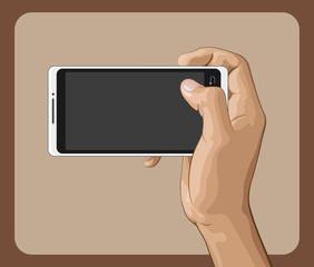 Hand Holding Smart Phone II