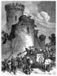 Destroying a Castle - 17th/18th century