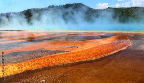 Foto op Canvas Turkey Yellowstone
