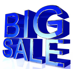 Blue big sale