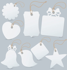 Set of label (tag) isolated . Vector illustra