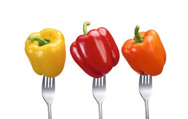 Paprika verschiedene Sorten