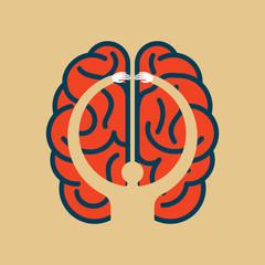 Brain Searching idea - Illustration