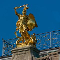 Bonn - Statue des Heiligen Michael