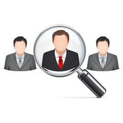 Vector Recruitment Concept