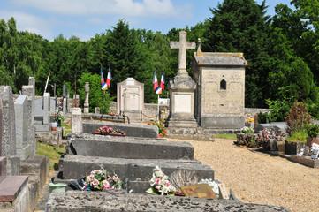 France, the picturesque village of Boisemont