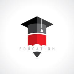 Education symbol concept, vector