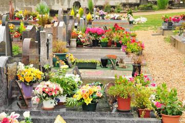 France, the cemetery of  Vaux sur Seine